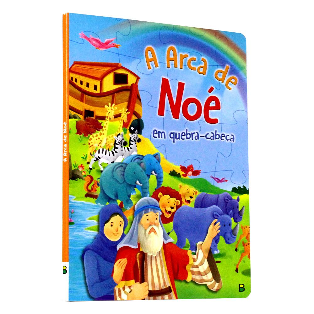 A Arca de Noé em quebra-cabeça | Aventuras Bíblicas em Quebra-Cabeça
