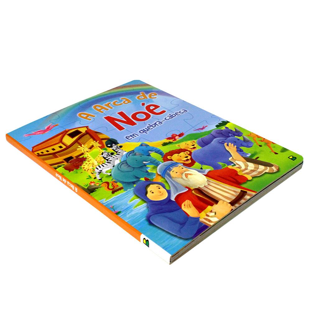 A Arca de Noé em quebra-cabeça   Aventuras Bíblicas em Quebra-Cabeça