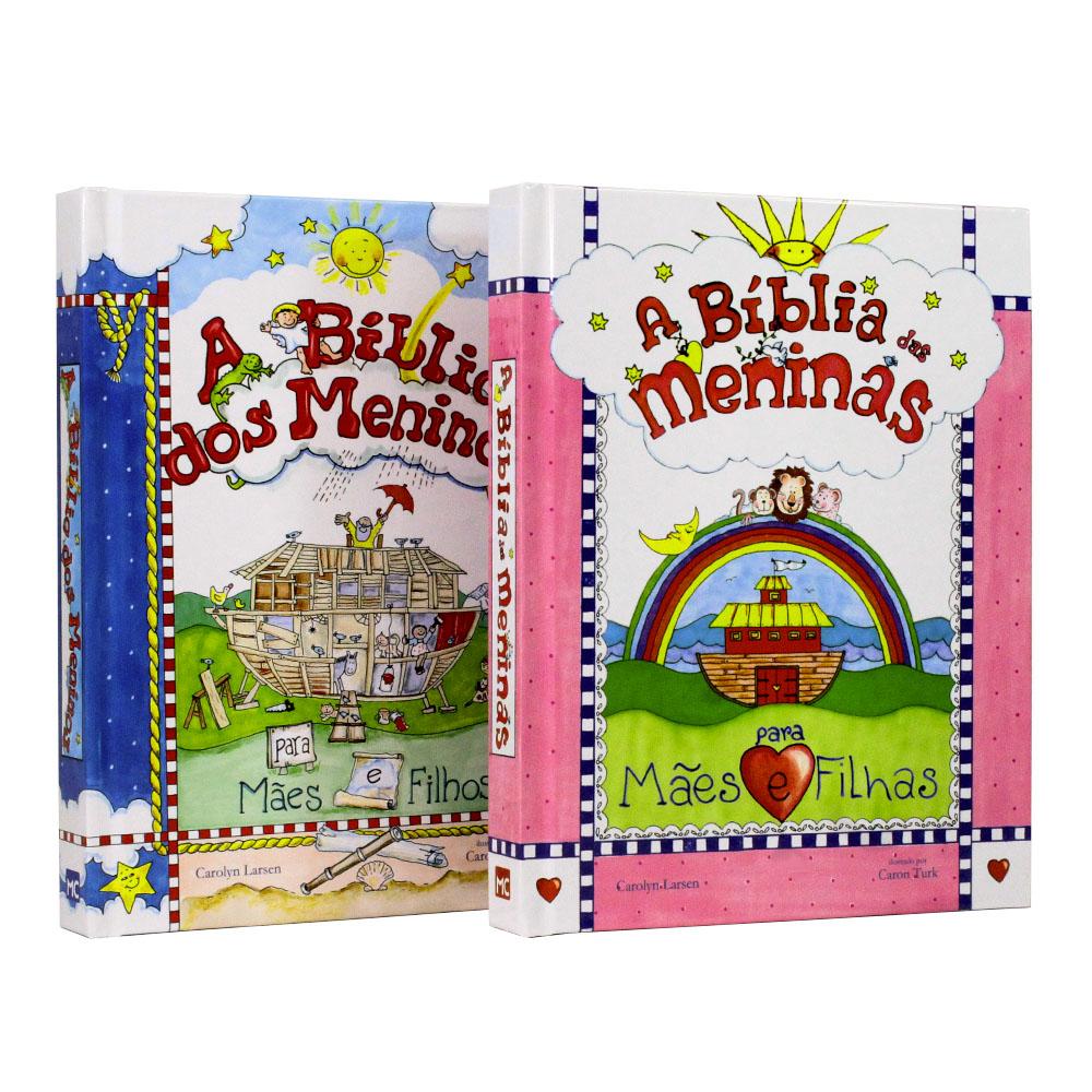 A Bíblia das Meninas | A Bíblia dos Meninos - Kit 02 Livros