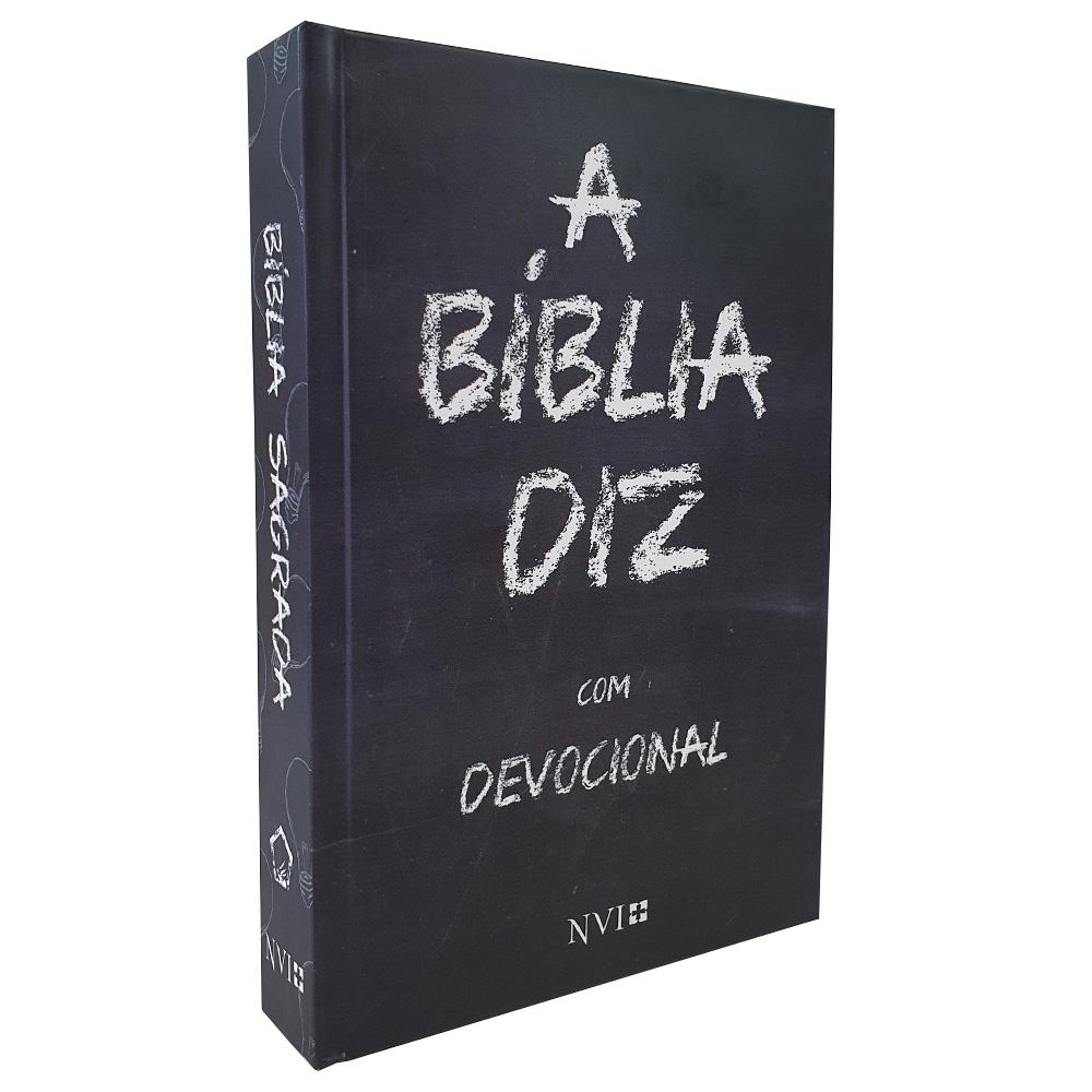 A Bíblia Diz com Devocional | NVI | Capa Giz