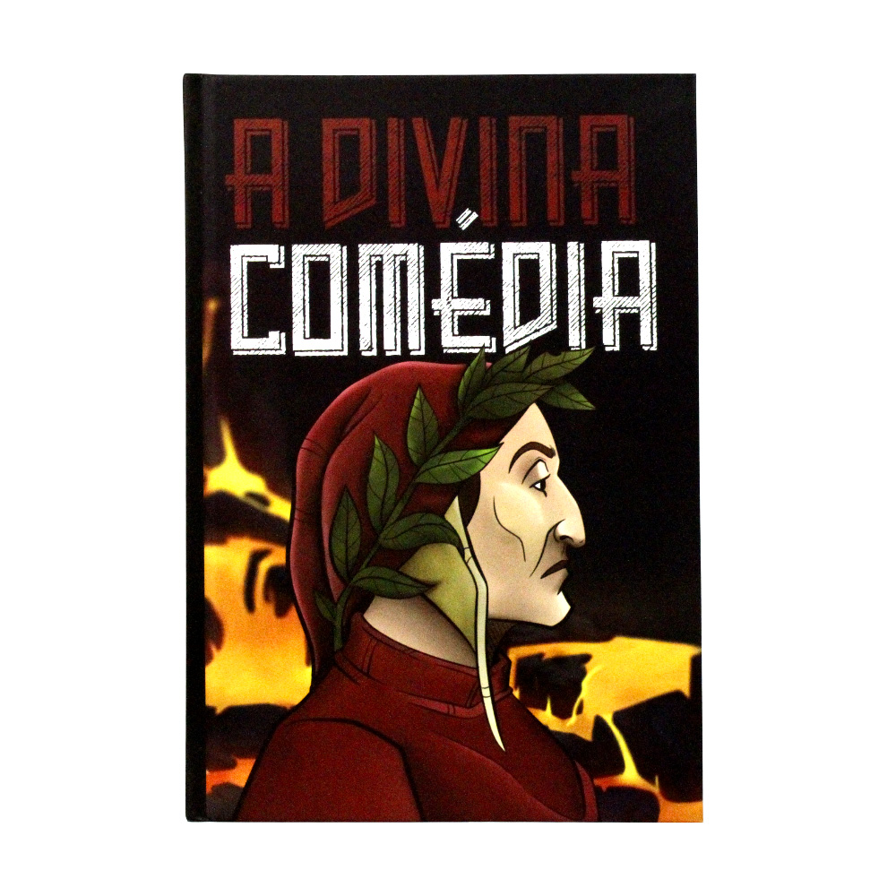 A Divina Comédia | Inferno | Dante Alighieri | Capa Dura