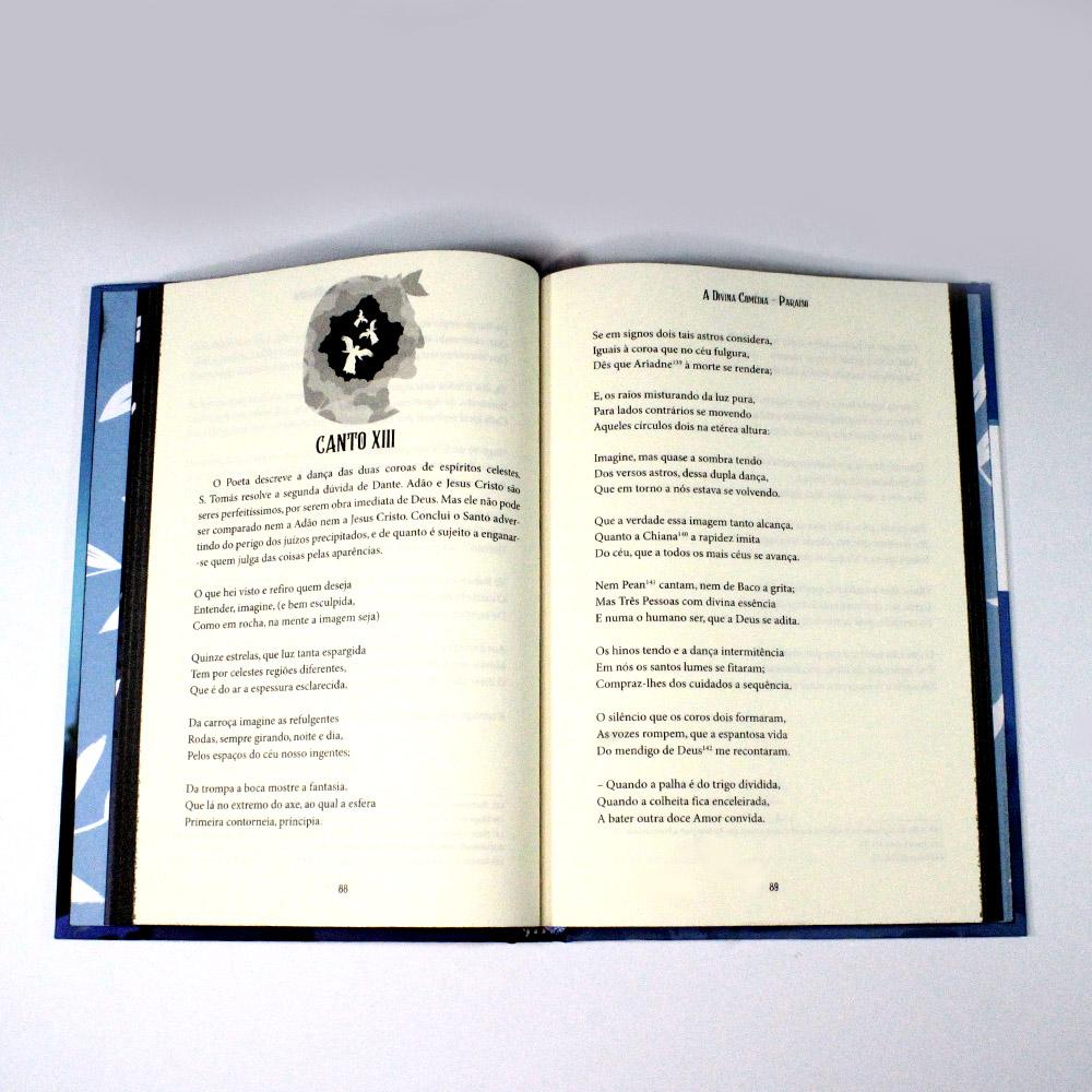 A Divina Comédia | Paraíso | Dante Alighieri | Capa Dura