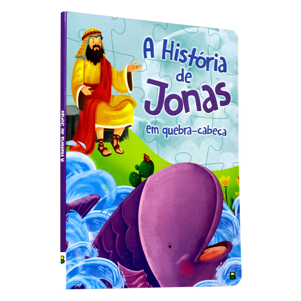 A História de Jonas em quebra-cabeça | Aventuras Bíblicas em Quebra-Cabeça