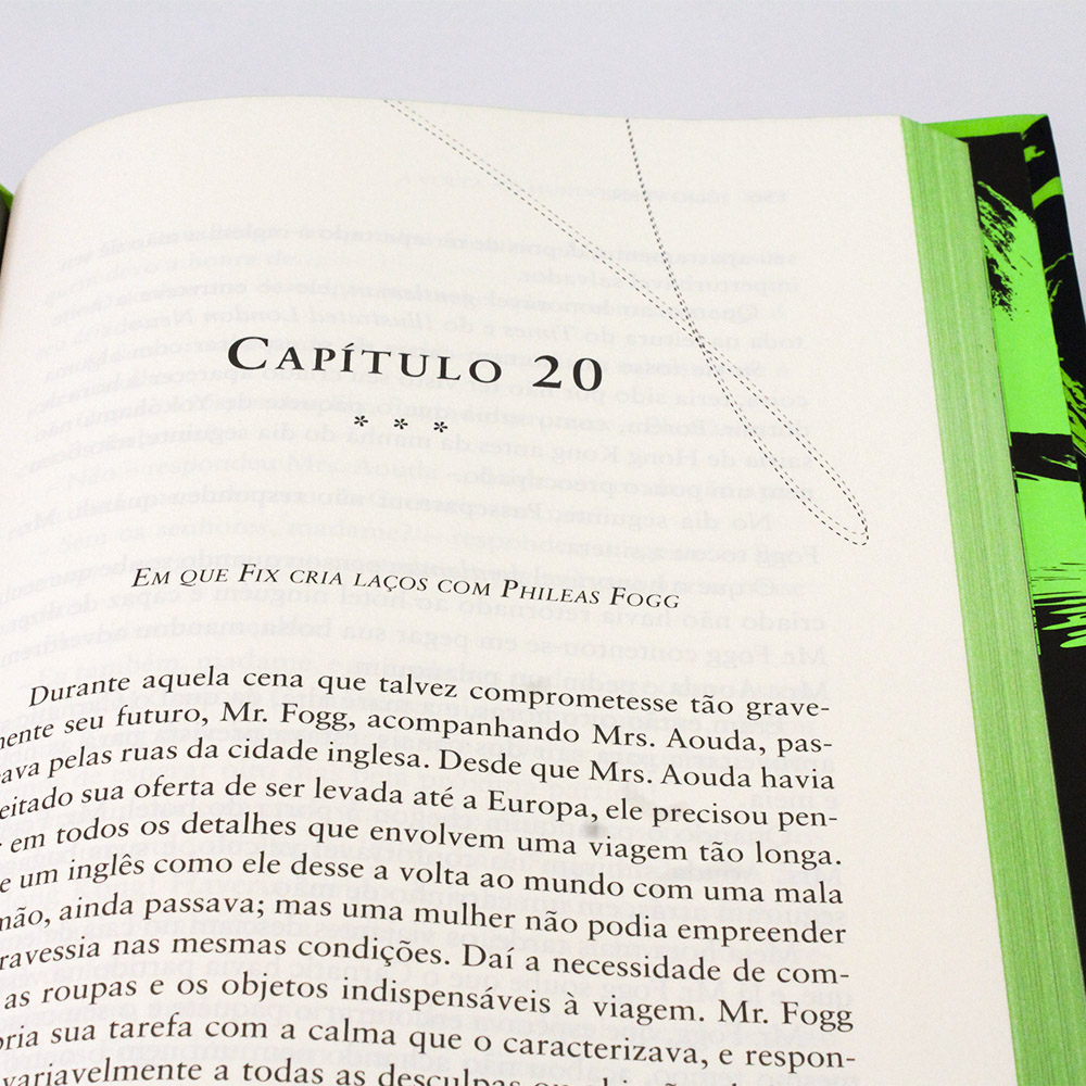A Volta Ao Mundo Em 80 Dias | Edição Premium | Júlio Verne - Capa Dura