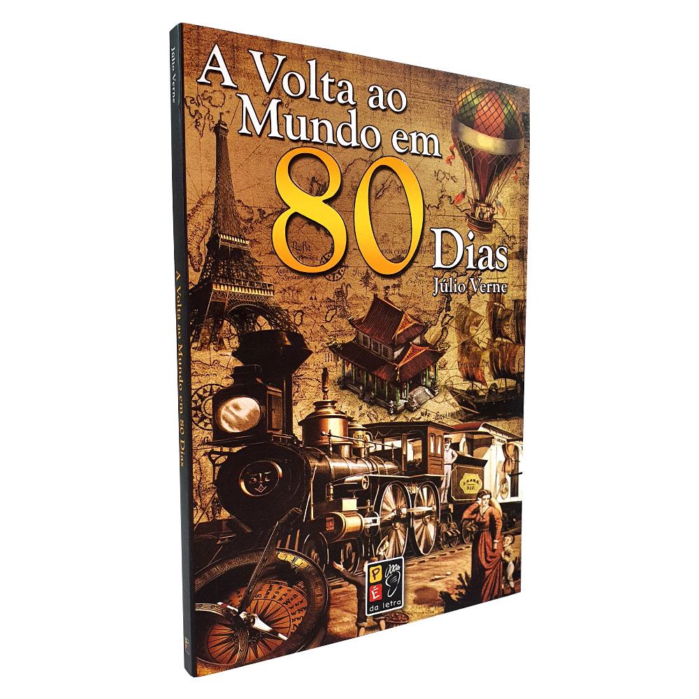 A Volta ao Mundo em 80 dias - Júlio Verne | Pé da Letra