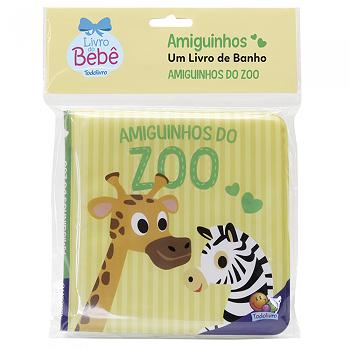 Amiguinhos | Um Livro De Banho | Amiguinhos Do Zoo | Todolivro
