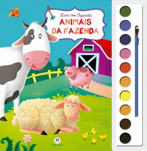 Animais Da fazenda | Aquarela