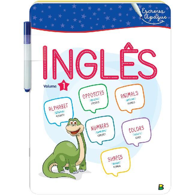 Aprenda em Casa - Escreva e Apague: Inglês Volume 1