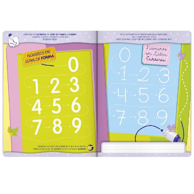 Aprenda em Casa - Escreva e Apague: Números