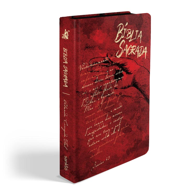 Biblia ACF Chagas de Cristo - Letra Grande Soft Touch