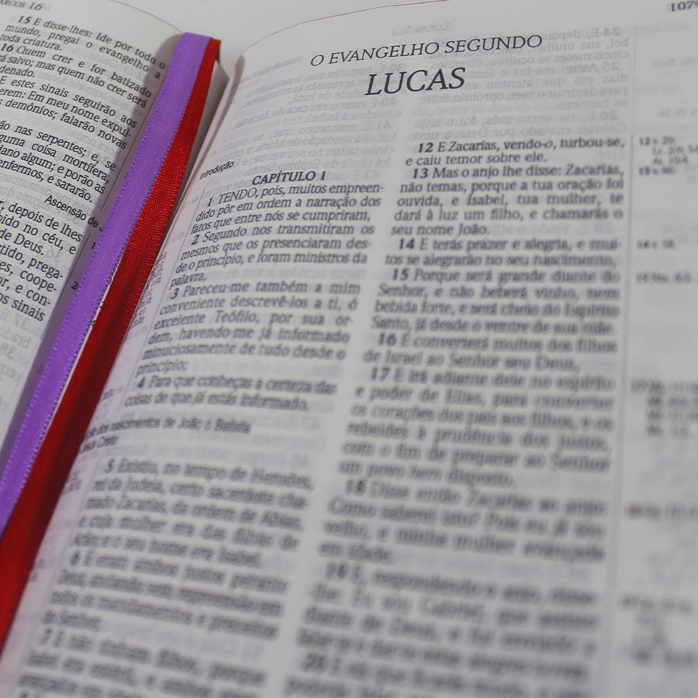 Biblia ACF Cruz Tiffany - Letra Grande Soft Touch