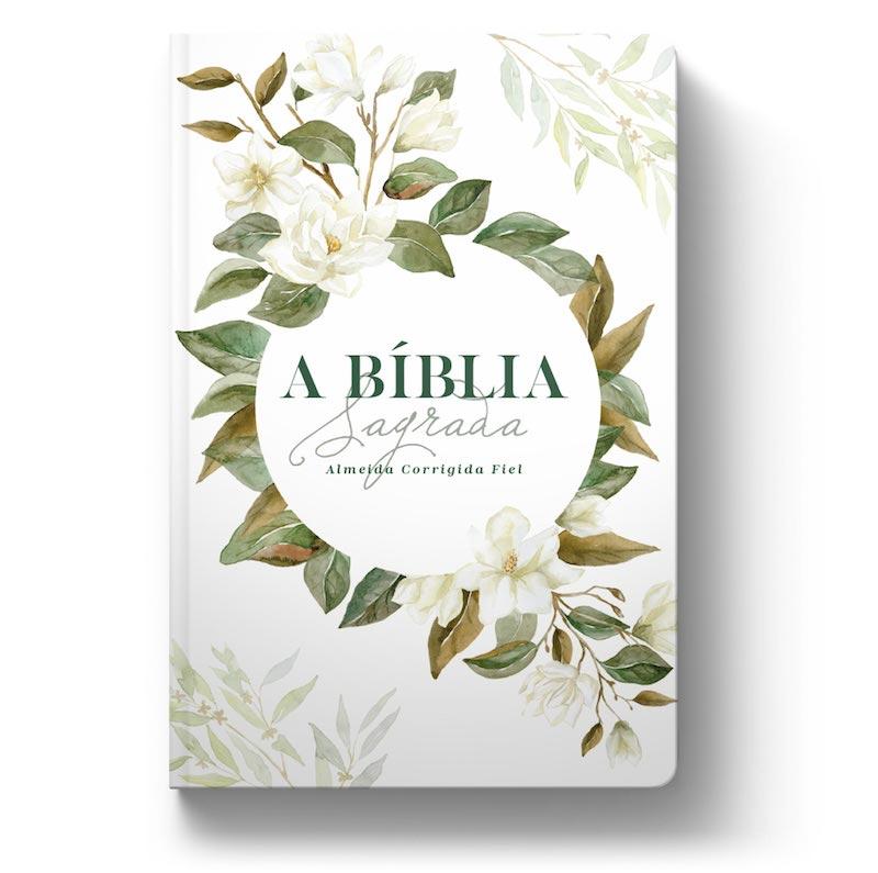 Biblia ACF Magnolia Branca - Letra Grande Soft Touch