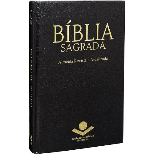 Bíblia Capa Dura | ARA Preta