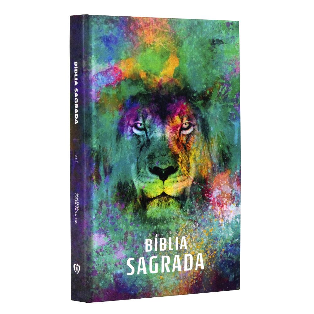 Bíblia Capa Dura | Leão Color | ACF
