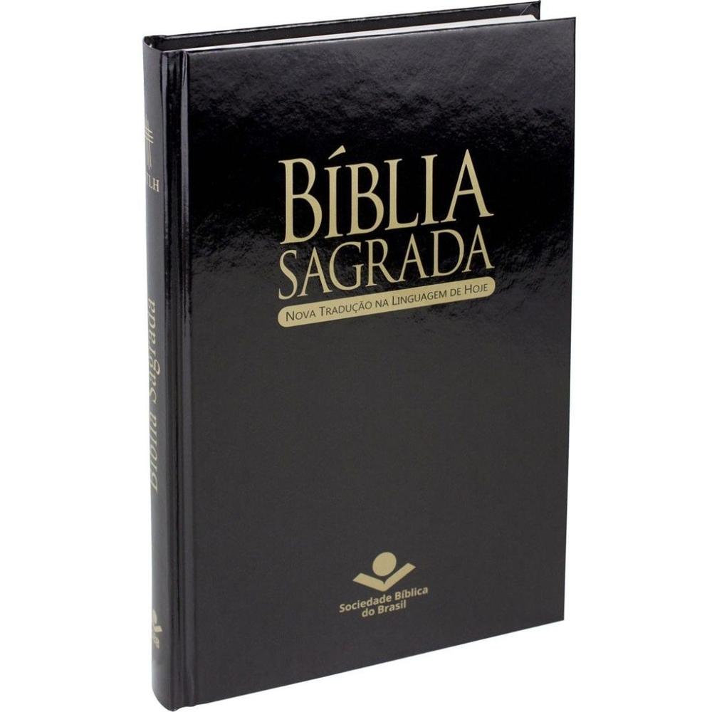 Bíblia Capa Dura NTLH - Preta