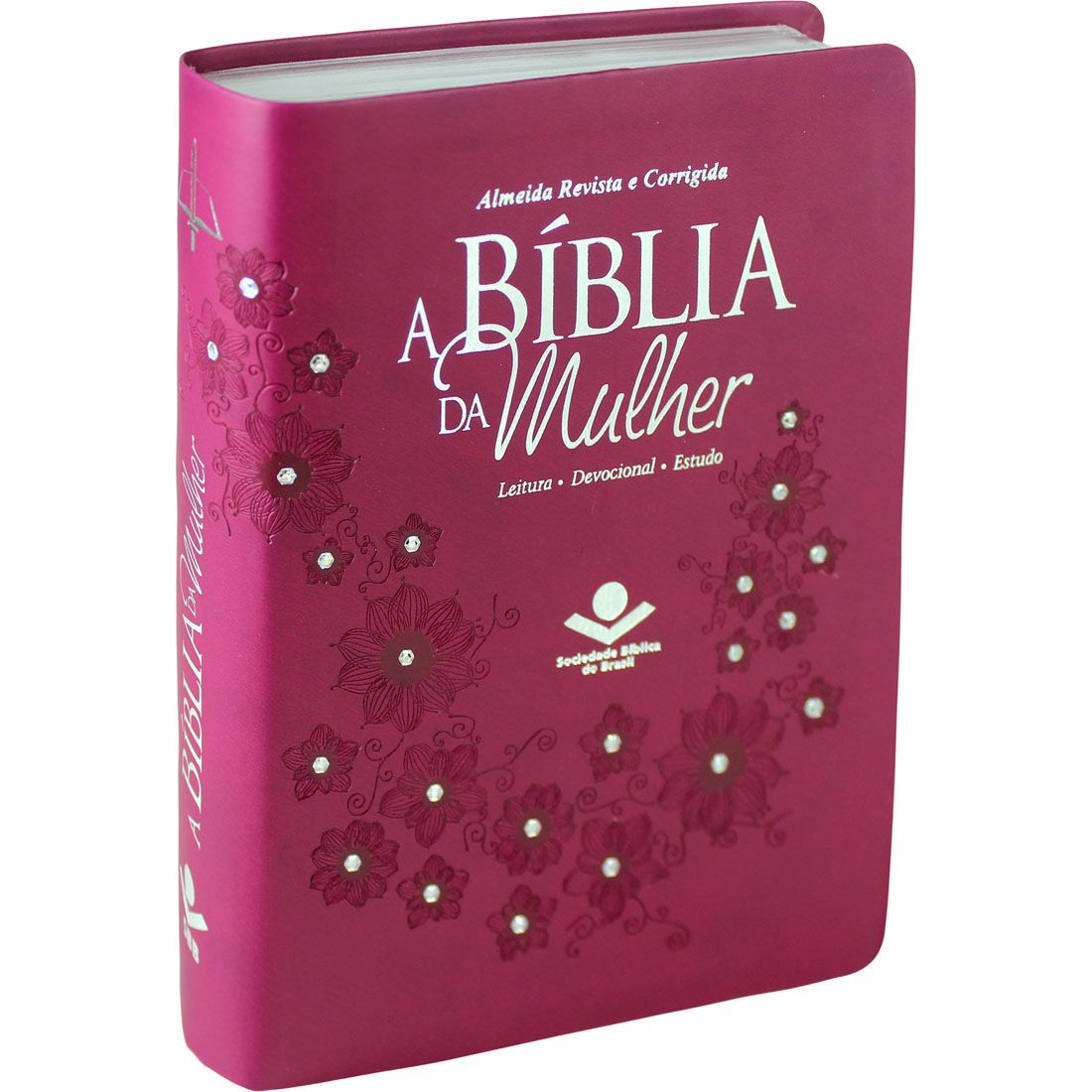Bíblia da Mulher Média | ARC com Strass