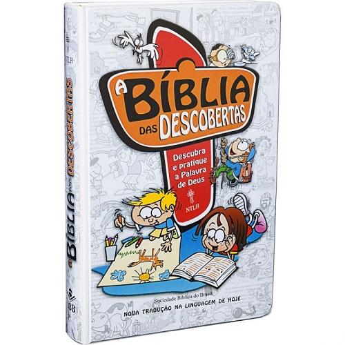 Bíblia das Descobertas - Azul