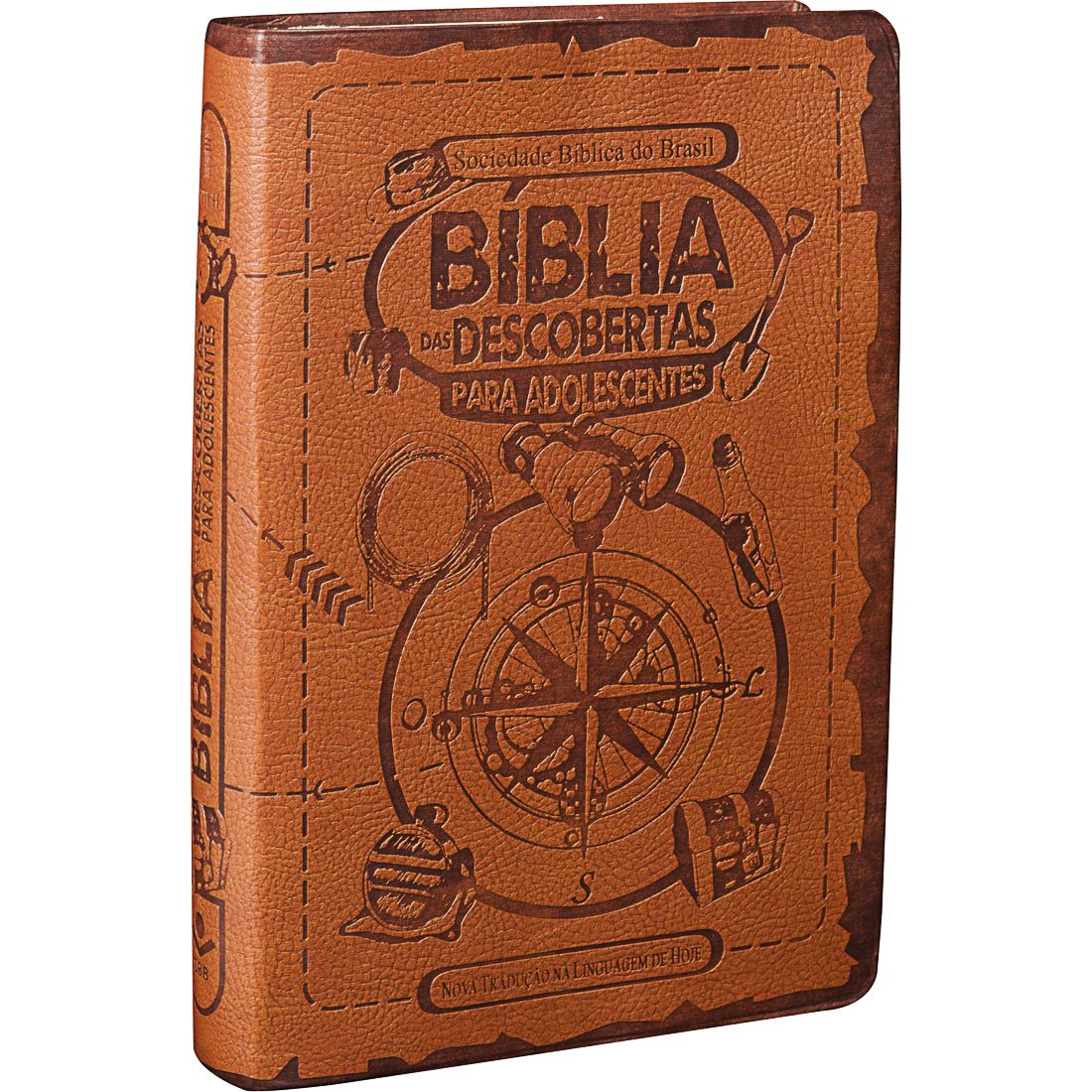 Bíblia das Descobertas para Adolescentes | NTLH - Marrom