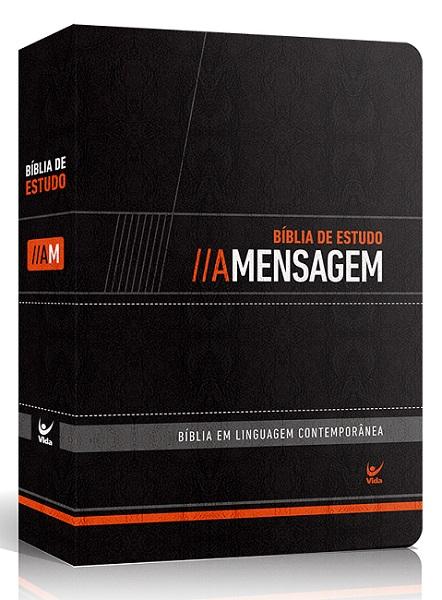 Bíblia de Estudo A Mensagem com Índice | Eugene Peterson
