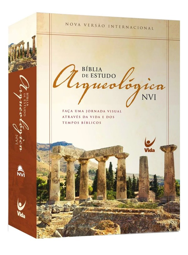 Bíblia de Estudo Arqueológica | NVI | Capa Dura