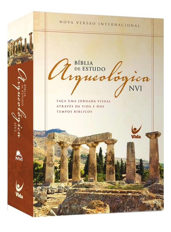 Bíblia de Estudo Arqueológica   NVI   Capa Dura
