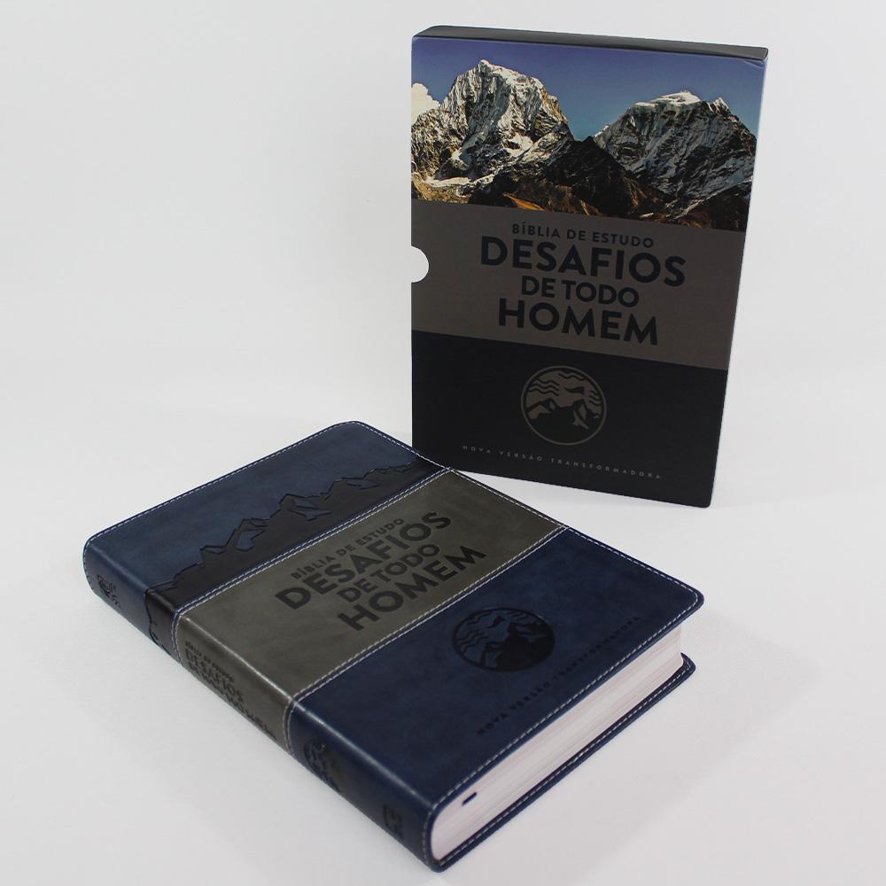 Bíblia de Estudo Desafios de Todo Homem | NVT