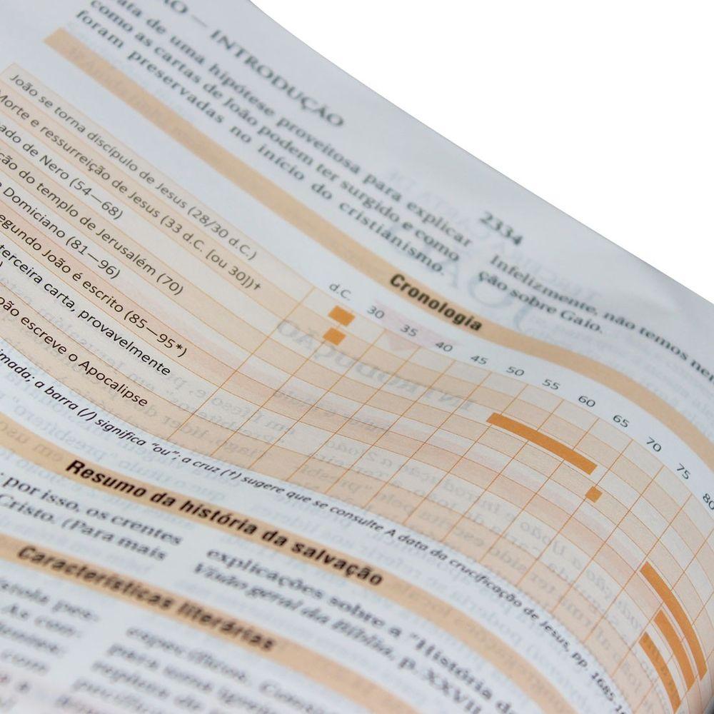Bíblia de Estudo NAA | Nova Almeida Atualizada - Preta