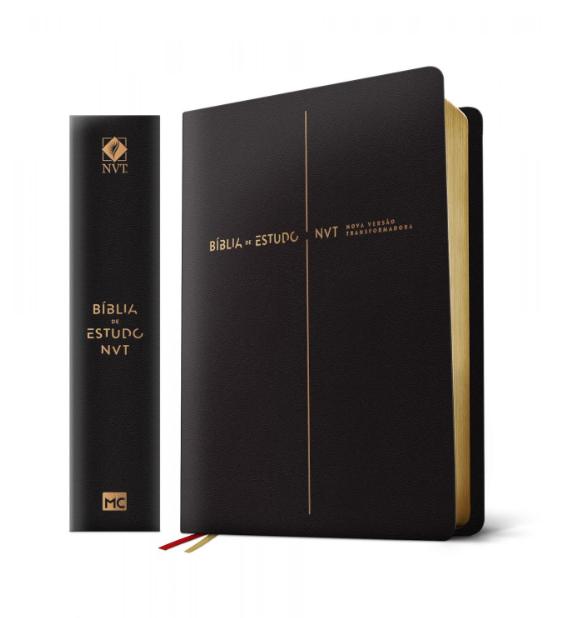 Bíblia de Estudo NVT | Nova Versão Transformadora
