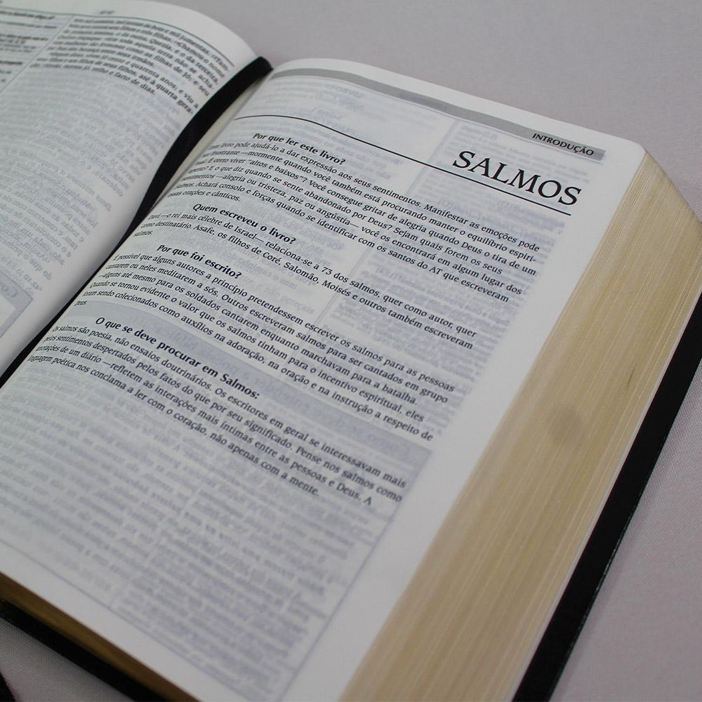 Bíblia de Estudo Vida | ARA | Preta