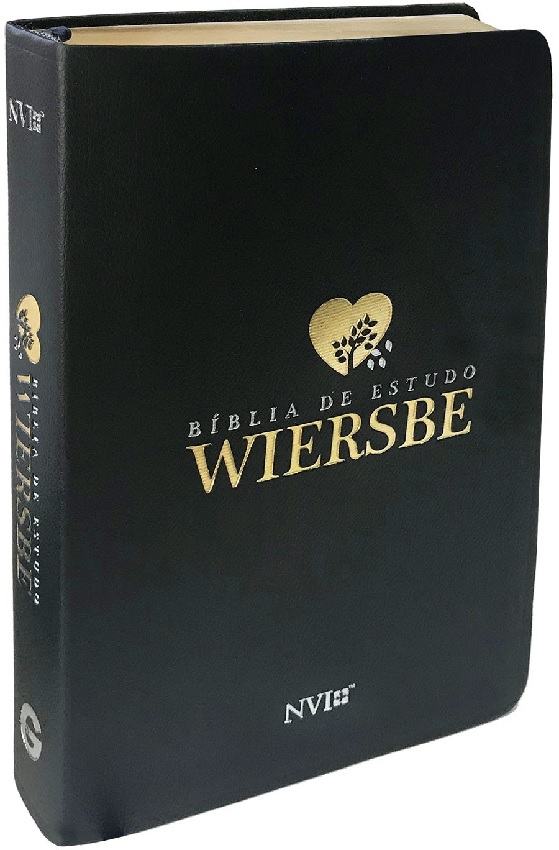 Bíblia de Estudo Wiersbe | NVI Preta