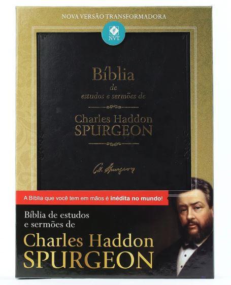 Bíblia de Estudos e Sermões de Charles Spurgeon | NVT