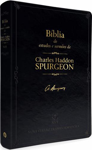 Bíblia de Estudos e Sermões de Charles Spurgeon   NVT