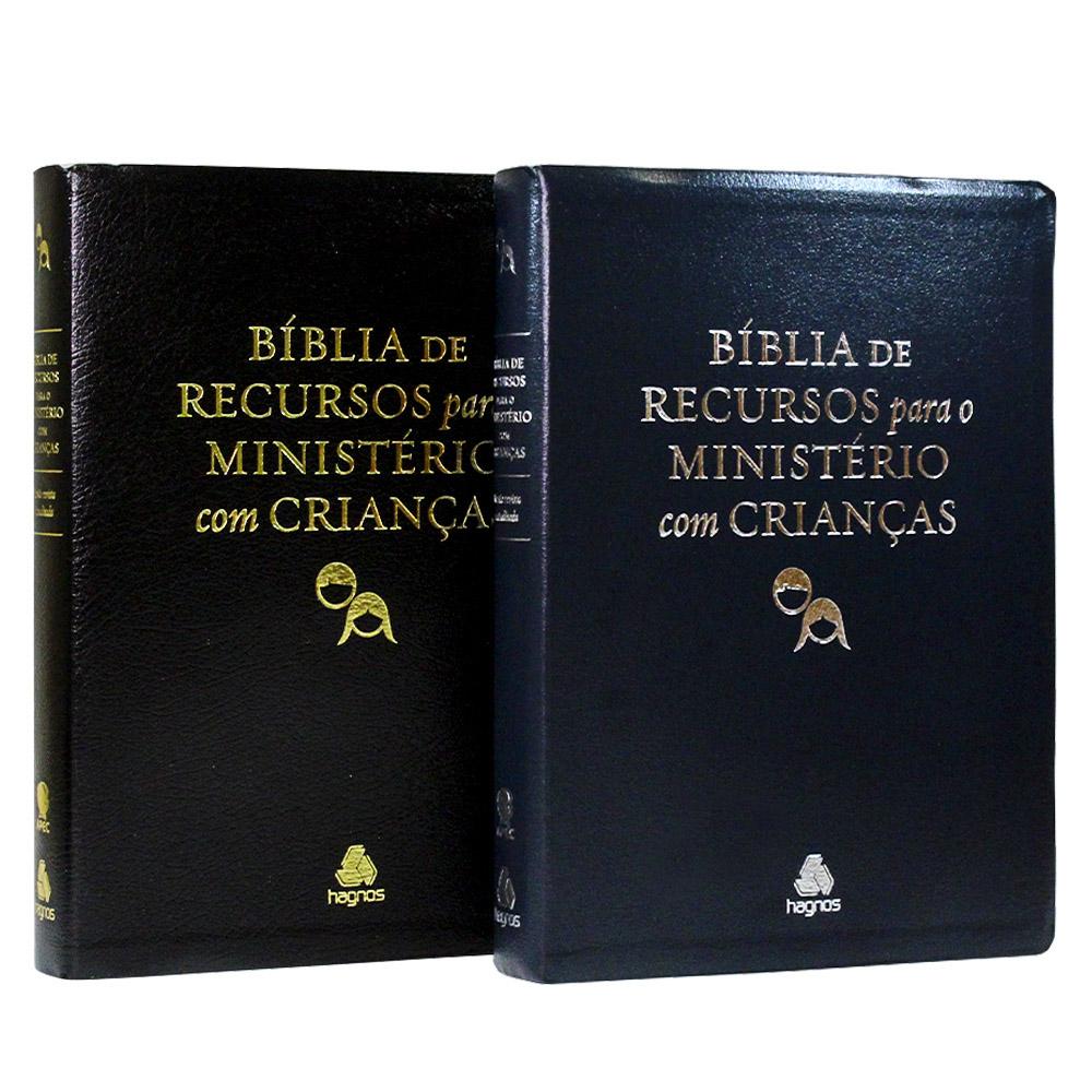 Bíblia de Recursos para o Ministério com Crianças | Luxo | APEC