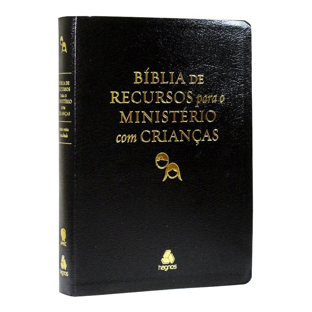 Bíblia de Recursos para o Ministério com Crianças   Luxo   APEC
