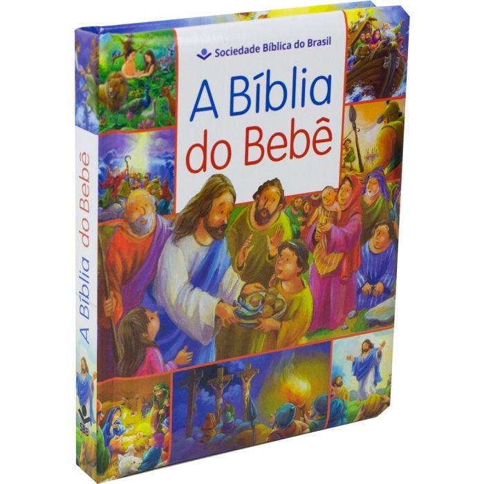 Bíblia do Bebê | SBB - Capa Almofadada