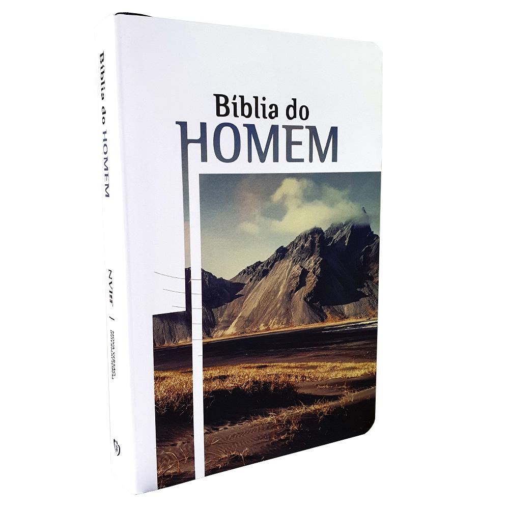 Bíblia do Homem | NVI | Letra Grande | Soft Touch | Montanha