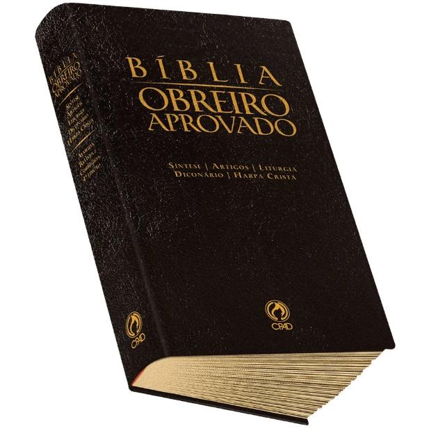 Bíblia do Obreiro Aprovado Média | Harpa Cristã