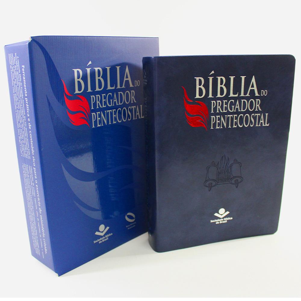 Bíblia do Pregador Pentecostal com Índice NAA