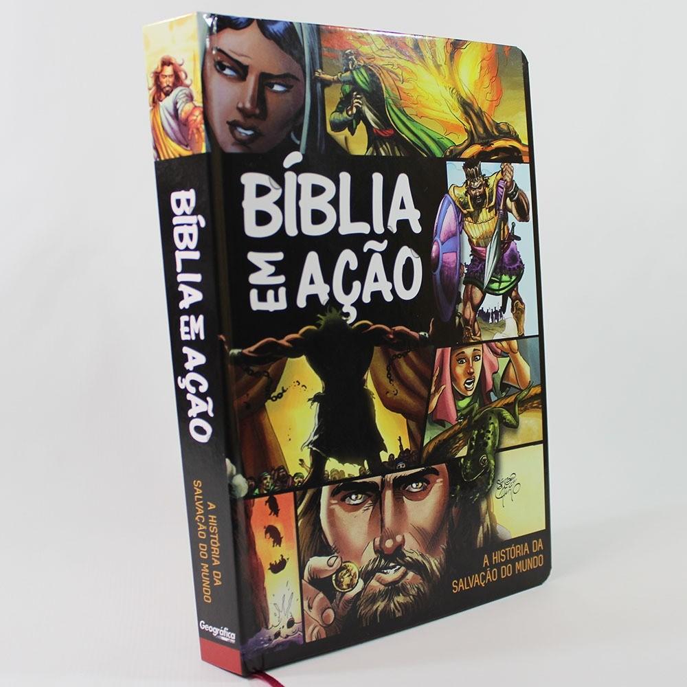 Bíblia em Ação | Capa Dura