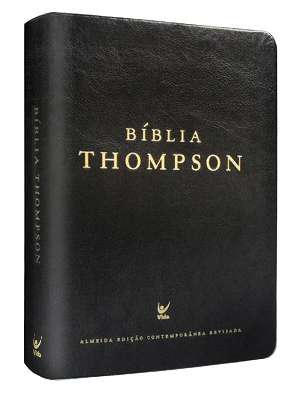 Bíblia Estudo Thompson - Preta