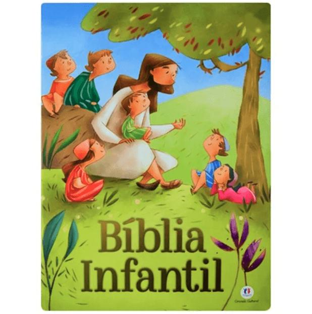 Bíblia Infantil - Capa Almofadada