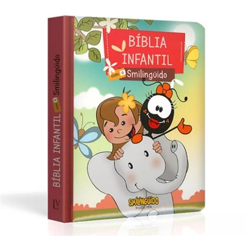 Bíblia Infantil com o Smilinguido | Capa Faniquita