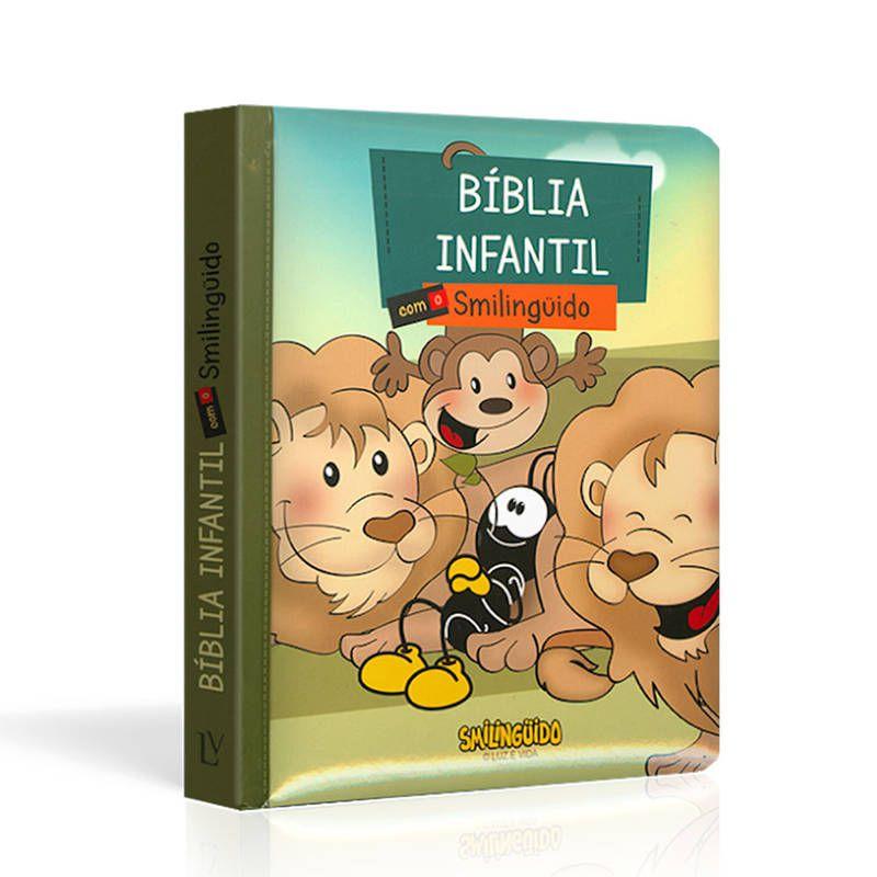 Bíblia Infantil com o Smilinguido | Capa Smilinguido