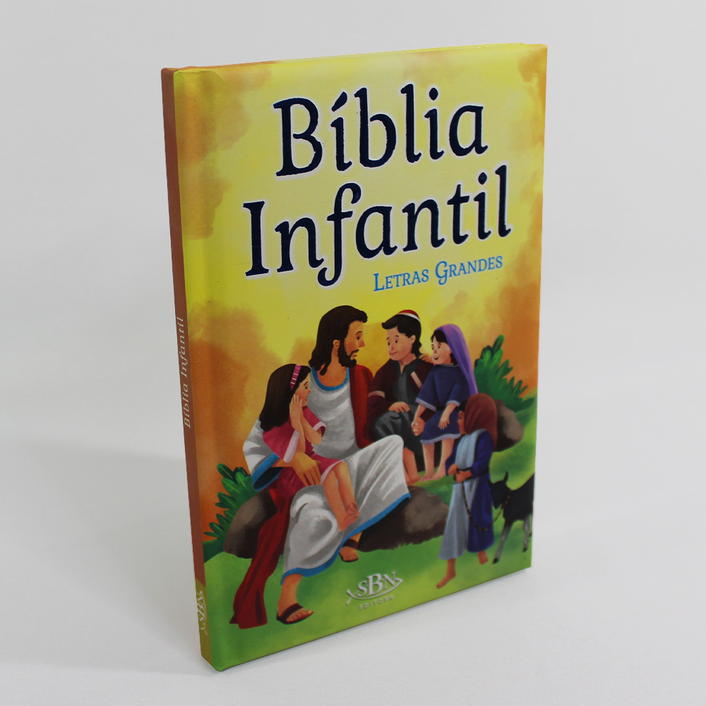 Bíblia Infantil - Letras Grandes