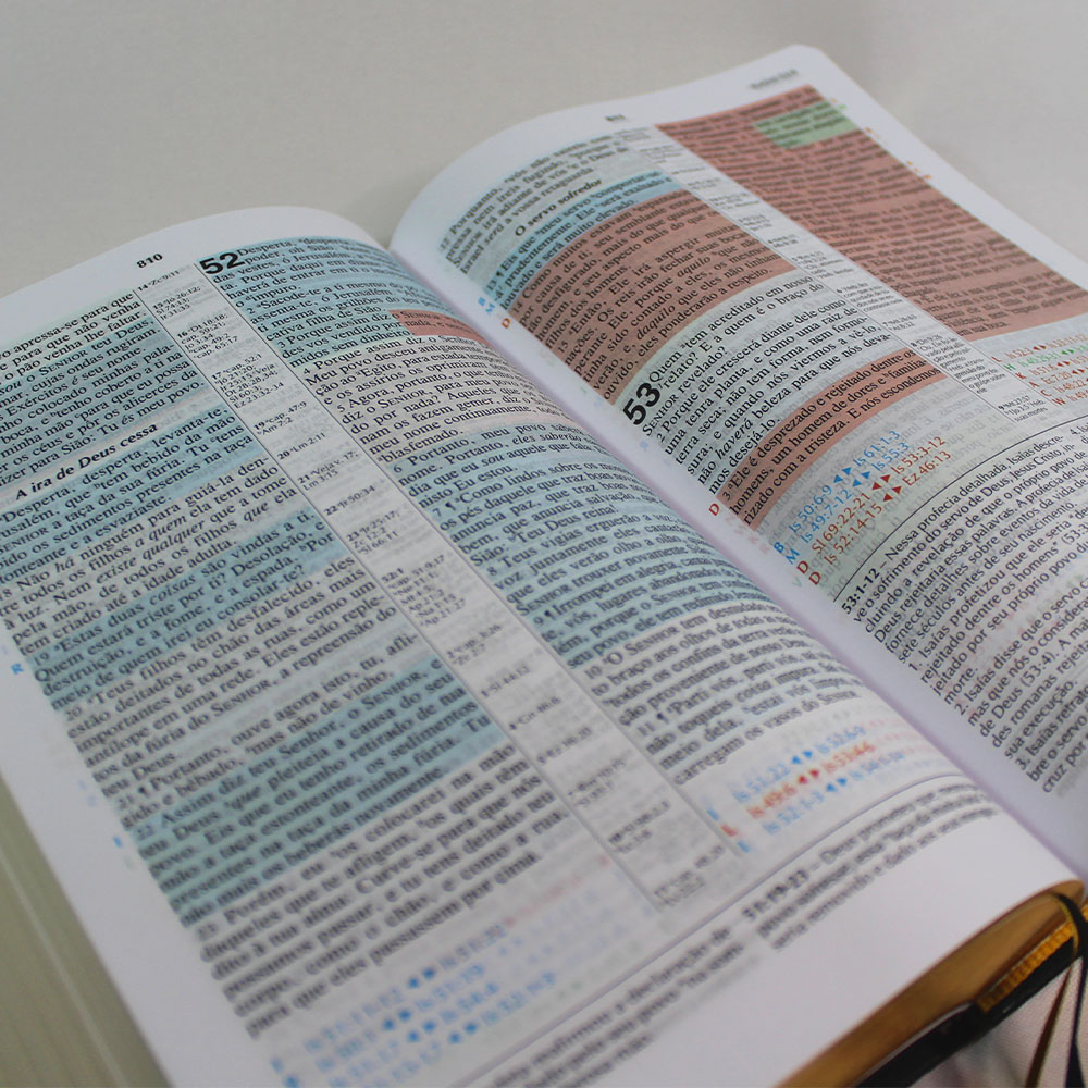 Bíblia Jeffrey de Estudo Profético