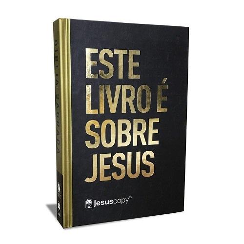 Bíblia Jesus Copy Este Livro é Sobre Jesus | Letra Grande