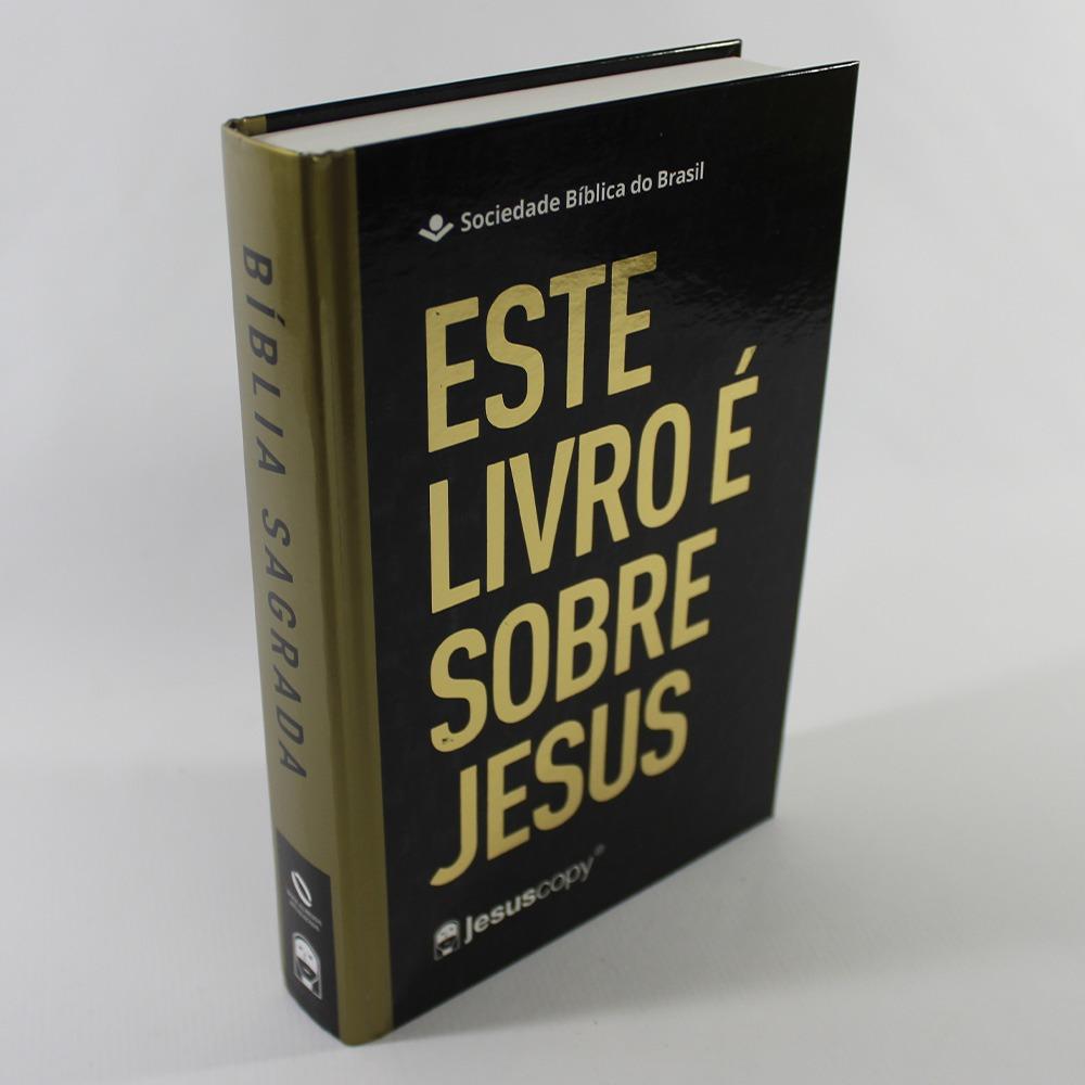 Bíblia Jesus Copy Este Livro é Sobre Jesus   Letra Grande