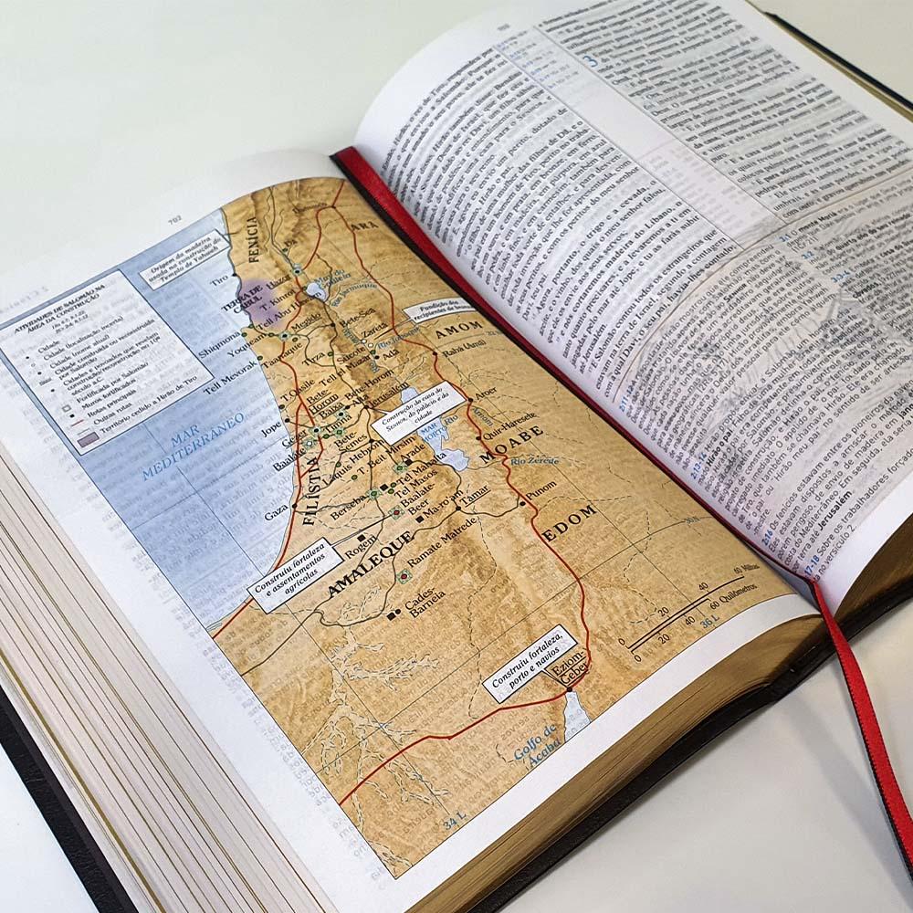 Bíblia King James de Estudo Holman | Fiel 1611 BKJ