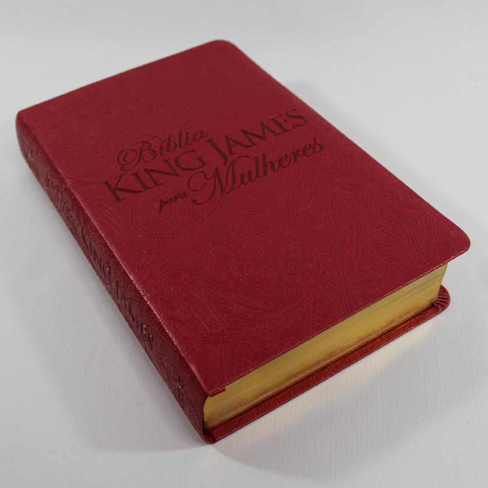Bíblia King James para Mulheres - Vermelha