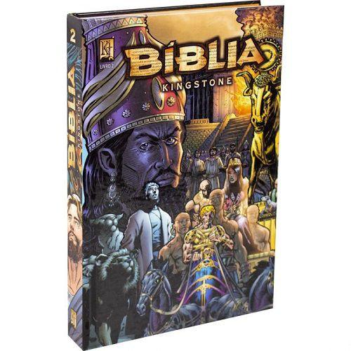 Bíblia Kingstone em Quadrinhos - Box com 3 Vol